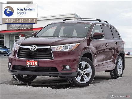 2015 Toyota Highlander Limited (Stk: E8067) in Ottawa - Image 1 of 29