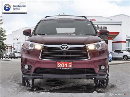 2015 Toyota Highlander Limited (Stk: E8067) in Ottawa - Image 2 of 29