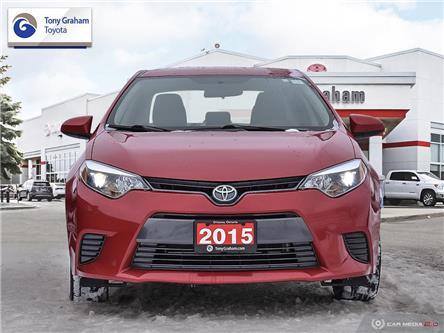 2015 Toyota Corolla LE (Stk: E8073) in Ottawa - Image 2 of 27