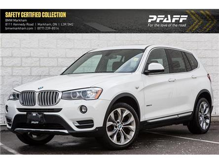 2017 BMW X3 xDrive28i (Stk: O12501) in Markham - Image 1 of 7