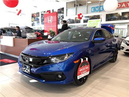2020 Honda Civic Sport (Stk: I200349) in Mississauga - Image 1 of 5