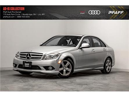 2009 Mercedes-Benz C-Class Base (Stk: T17387A) in Woodbridge - Image 1 of 22
