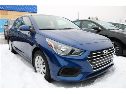 2020 Hyundai Accent Preferred (Stk: 01074) in Saint John - Image 1 of 2