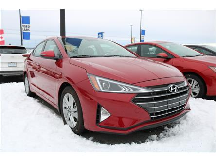2020 Hyundai Elantra Preferred w/Sun & Safety Package (Stk: 02051) in Saint John - Image 1 of 2