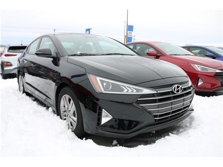 2020 Hyundai Elantra Preferred w/Sun & Safety Package (Stk: 02106) in Saint John - Image 1 of 2