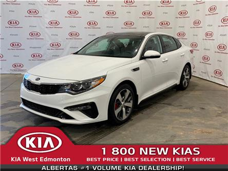 2019 Kia Optima SX Turbo (Stk: 21942) in Edmonton - Image 1 of 30