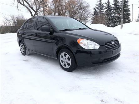 2010 Hyundai Accent GL (Stk: ) in Winnipeg - Image 1 of 16