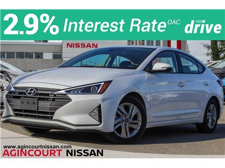 2020 Hyundai Elantra Preferred w/Sun & Safety Package (Stk: U12742R) in Scarborough - Image 1 of 24