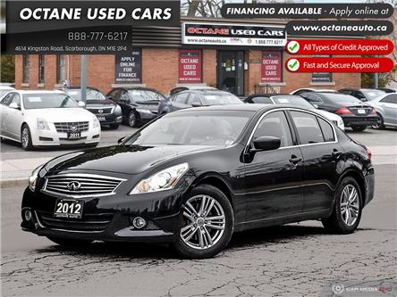 2012 Infiniti G37x Luxury (Stk: ) in Scarborough - Image 1 of 26