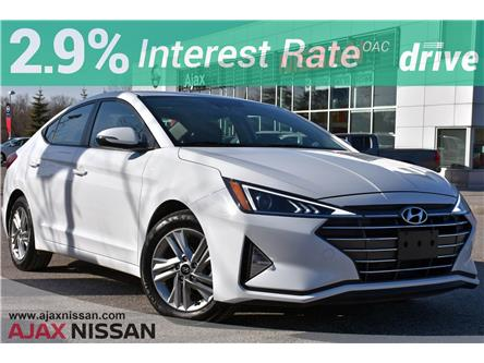 2020 Hyundai Elantra Luxury (Stk: P4336R) in Ajax - Image 1 of 32