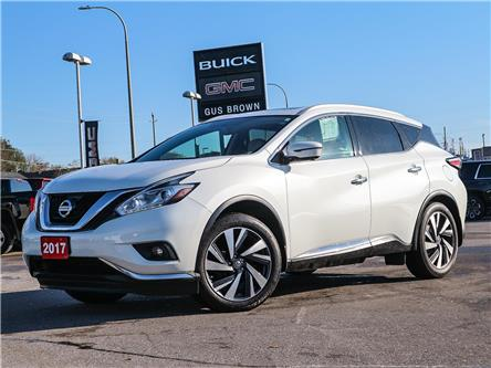 2017 Nissan Murano Platinum (Stk: N194844P) in WHITBY - Image 1 of 26