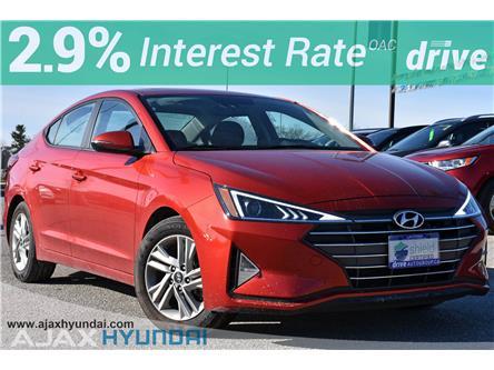2020 Hyundai Elantra Preferred w/Sun & Safety Package (Stk: P4869R) in Ajax - Image 1 of 32