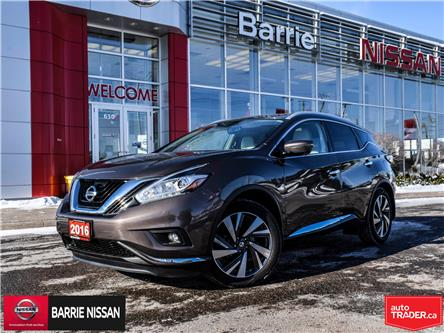 2016 Nissan Murano Platinum (Stk: 19540A) in Barrie - Image 1 of 28