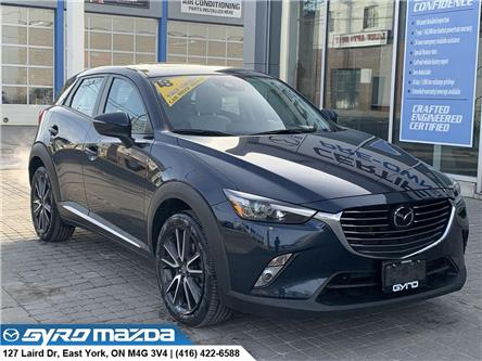 2018 Mazda CX-3 GT (Stk: 29341A) in East York - Image 1 of 30