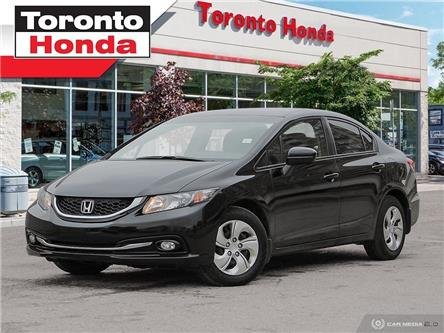 2015 Honda Civic Sedan LX (Stk: H39890A) in Toronto - Image 1 of 27