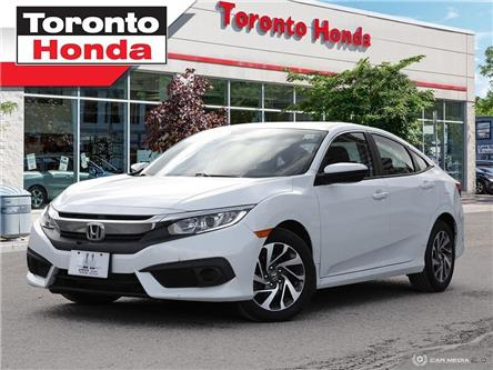 2017 Honda Civic Sedan EX (Stk: H39934P) in Toronto - Image 1 of 27