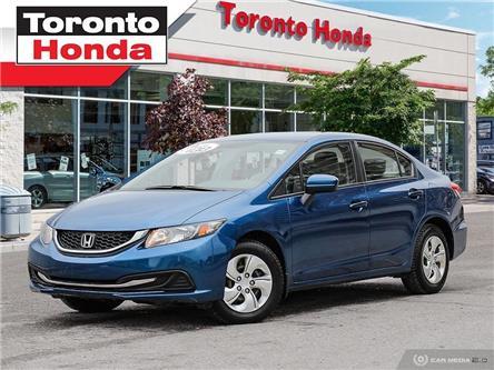 2015 Honda Civic Sedan LX (Stk: H39921A) in Toronto - Image 1 of 28