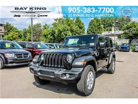 2019 Jeep Wrangler Unlimited Sport (Stk: 197438A) in Hamilton - Image 1 of 27