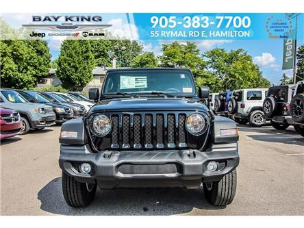2019 Jeep Wrangler Unlimited Sport (Stk: 197438A) in Hamilton - Image 2 of 27
