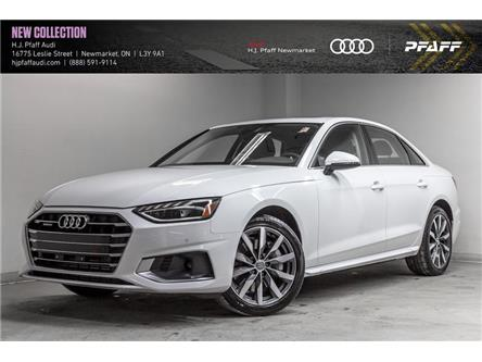 2020 Audi A4 2.0T Komfort (Stk: A13009) in Newmarket - Image 1 of 22