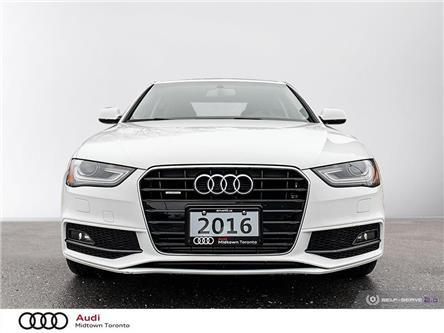 2016 Audi A4 2.0T Komfort plus (Stk: P7737) in Toronto - Image 2 of 25