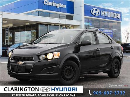 2013 Chevrolet Sonic LS Manual (Stk: 19916A) in Clarington - Image 1 of 27