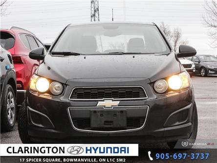 2013 Chevrolet Sonic LS Manual (Stk: 19916A) in Clarington - Image 2 of 27