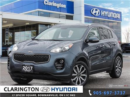 2017 Kia Sportage EX (Stk: U981) in Clarington - Image 1 of 27