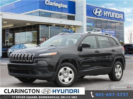 2014 Jeep Cherokee Sport (Stk: 19716B) in Clarington - Image 1 of 27