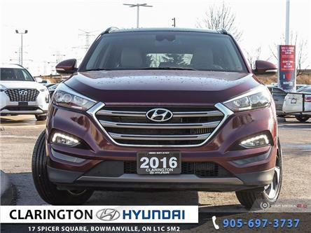 2016 Hyundai Tucson Ultimate (Stk: U1001) in Clarington - Image 2 of 27