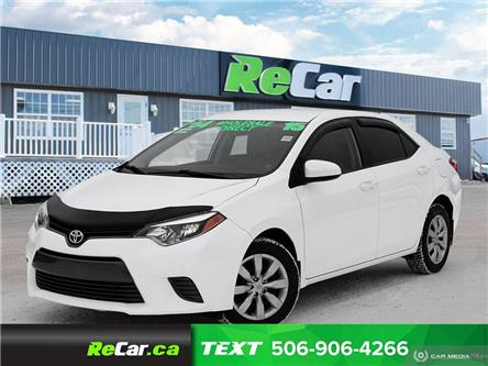 2015 Toyota Corolla LE (Stk: 200070A) in Fredericton - Image 1 of 23
