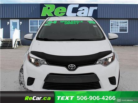 2015 Toyota Corolla LE (Stk: 200070A) in Fredericton - Image 2 of 23