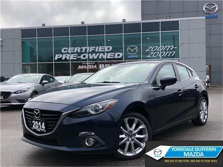 2014 Mazda Mazda3 Sport GT-SKY at NAVI,HEADS UP DISPLAY,SUNROOF,ALLOYS (Stk: 20027A) in Toronto - Image 1 of 22