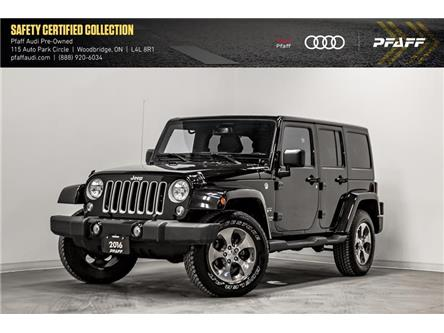 2016 Jeep Wrangler Unlimited Sahara (Stk: T17565A) in Woodbridge - Image 1 of 22