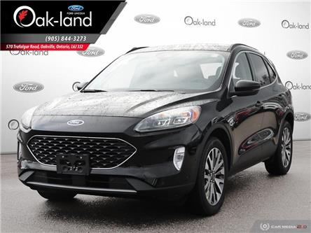 2020 Ford Escape Titanium Hybrid (Stk: 0T081) in Oakville - Image 1 of 24