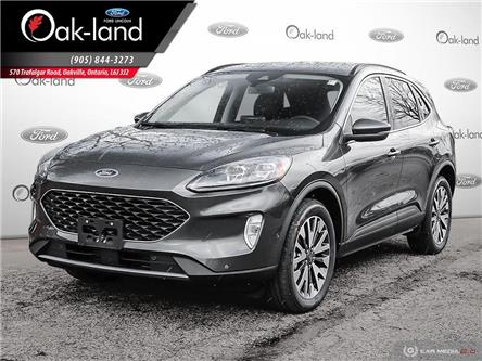 2020 Ford Escape Titanium Hybrid (Stk: 0T080) in Oakville - Image 1 of 23