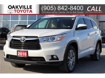 2016 Toyota Highlander XLE (Stk: LP4852) in Oakville - Image 1 of 21