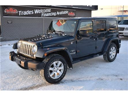 2018 Jeep Wrangler JK Unlimited Sahara (Stk: PA1073) in Saskatoon - Image 1 of 19
