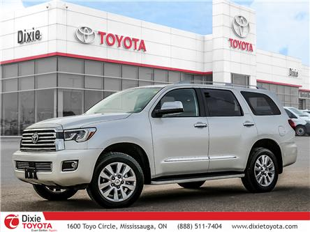 2018 Toyota Sequoia Platinum 5.7L V8 (Stk: 72347) in Mississauga - Image 1 of 30