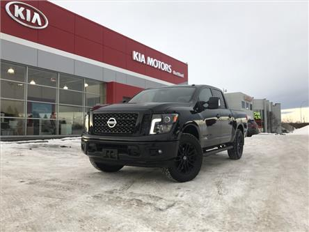 2018 Nissan Titan SV Midnight Edition (Stk: P0469) in Calgary - Image 1 of 23