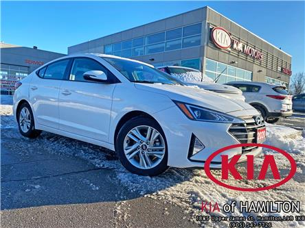 2020 Hyundai Elantra Preferred (Stk: P10600) in Hamilton - Image 1 of 16