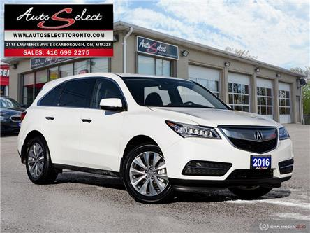 2016 Acura MDX Technology Package (Stk: 1AX7W21) in Scarborough - Image 1 of 30