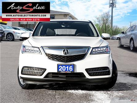 2016 Acura MDX Technology Package (Stk: 1AX7W21) in Scarborough - Image 2 of 30