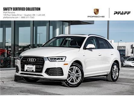 2016 Audi Q3 2.0T Technik quattro 6sp Tiptronic (Stk: U8488) in Vaughan - Image 1 of 22