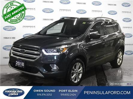 2018 Ford Escape SEL (Stk: 1937) in Owen Sound - Image 1 of 25