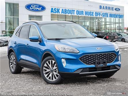 2020 Ford Escape Titanium Hybrid (Stk: U0096) in Barrie - Image 1 of 27