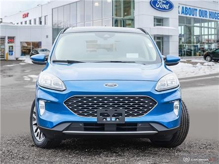 2020 Ford Escape Titanium Hybrid (Stk: U0096) in Barrie - Image 2 of 27