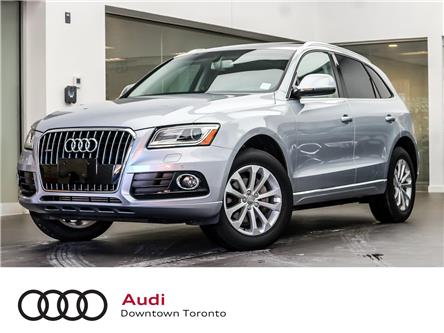 2016 Audi Q5 2.0T Progressiv (Stk: P3642) in Toronto - Image 1 of 29