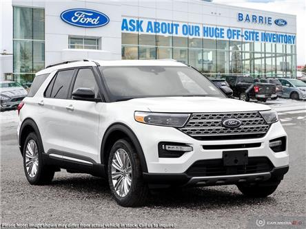 2020 Ford Explorer Limited (Stk: U0183) in Barrie - Image 1 of 27