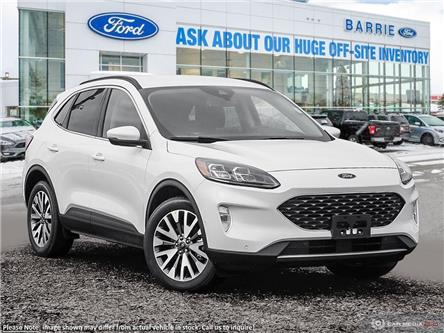 2020 Ford Escape Titanium Hybrid (Stk: U0164) in Barrie - Image 1 of 26